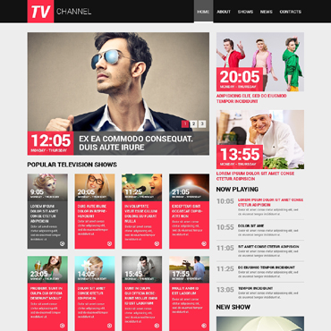 Website Template № 50750