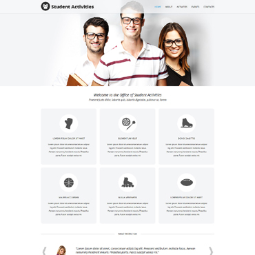 Website Template № 50795