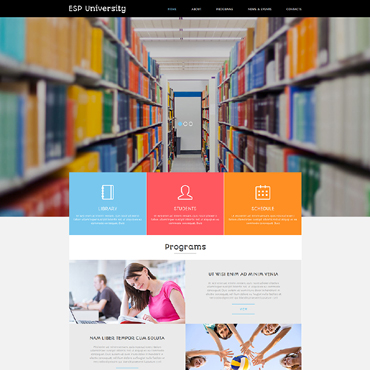 Website Template № 50797