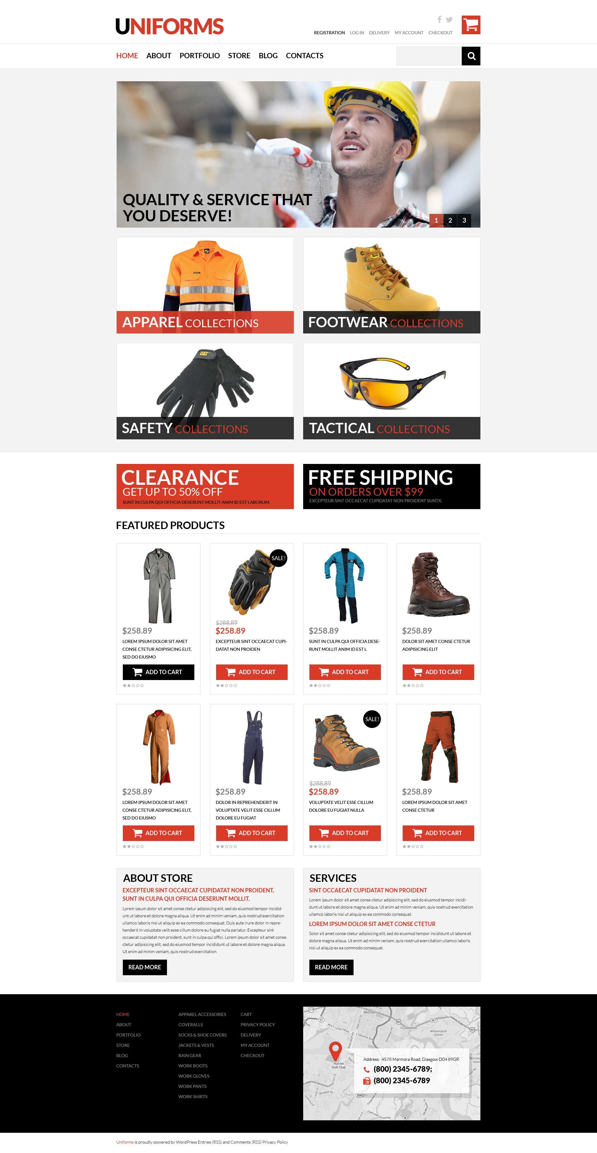 Working Clothes WooCommerce Theme