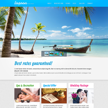 Website Template № 50820