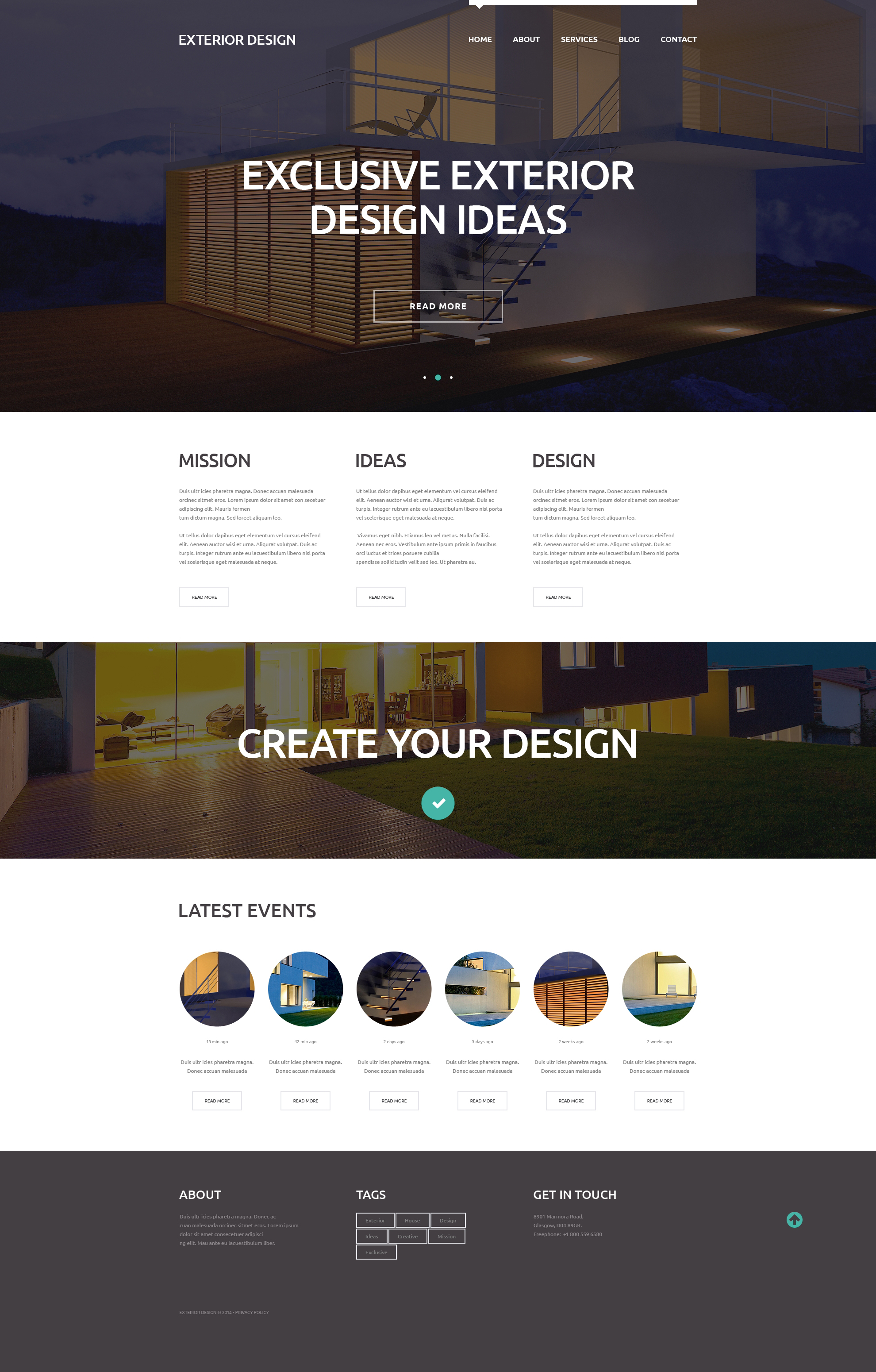 External Design Trends WordPress Theme