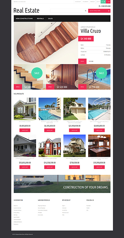 Template 50897 for Magento community templates