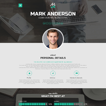 Website Template № 50917