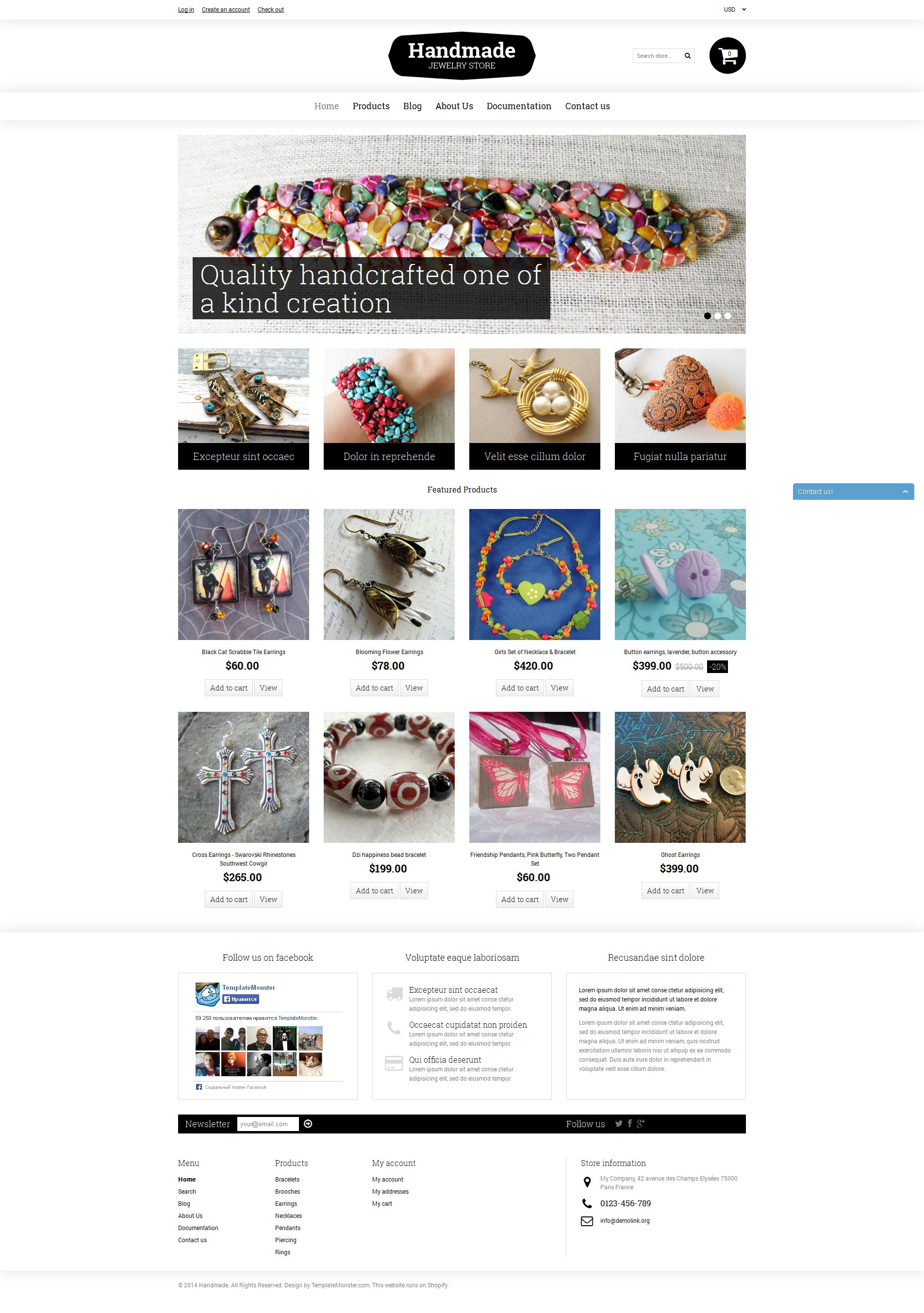 Goodies Store Shopify Theme