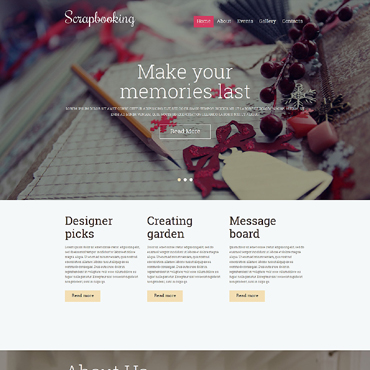 Website Template № 50970