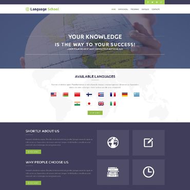Website Template № 51000