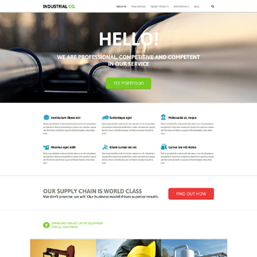 Website Template № 51038