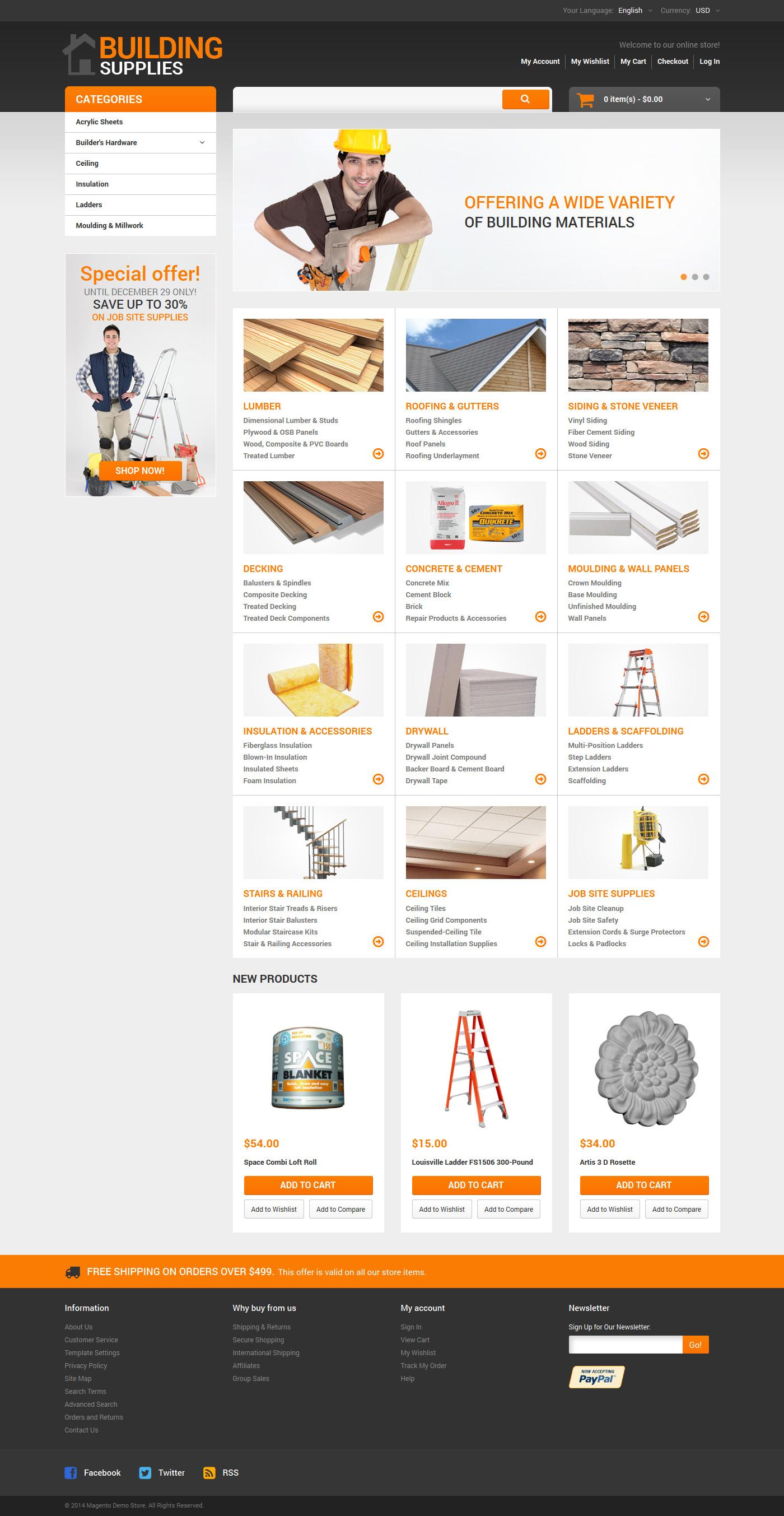 Home Repairs Responsive Magento Theme