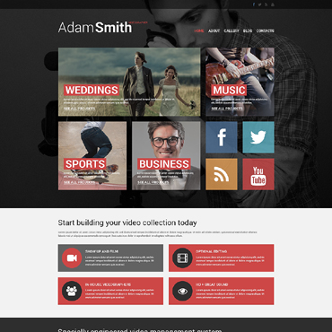 Website Template № 51055