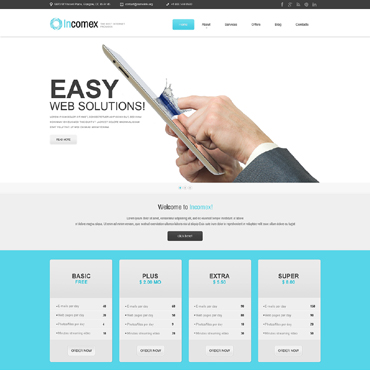 Website Template № 51083