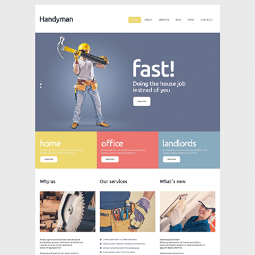 Website Template № 51092