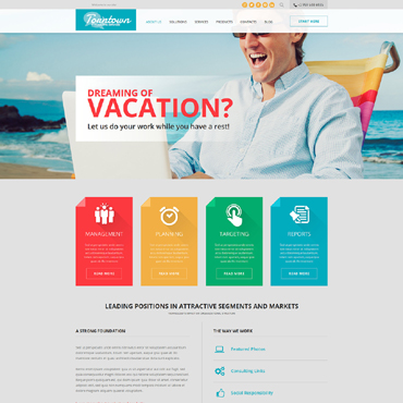 Website Template № 51113