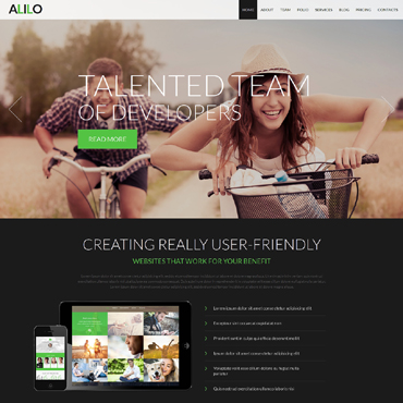 Template Web Design Joomla #51148