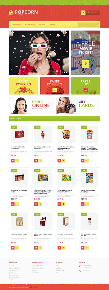 Template 51362 for Magento community templates