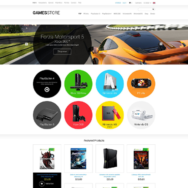 Website Template № 51374