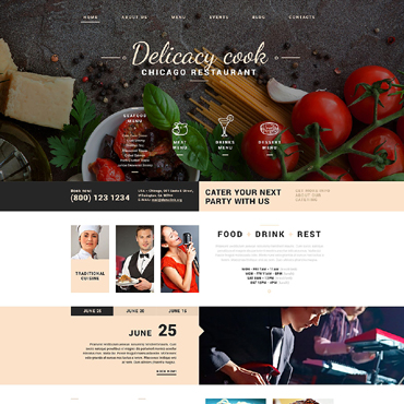 Website Template № 51745