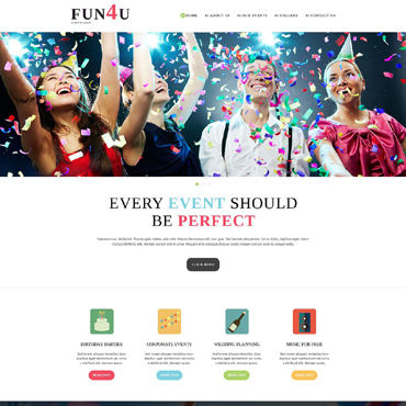 Website Template № 51755