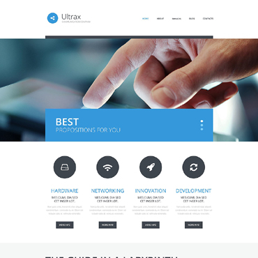 Website Template № 51771