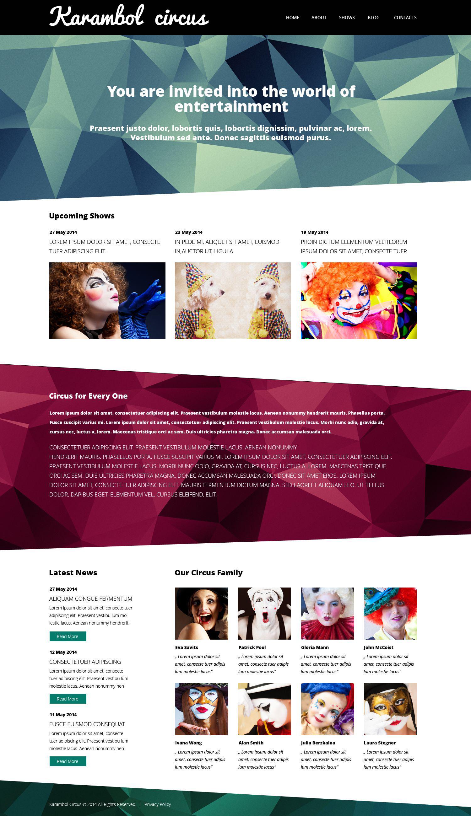 Fun  Joy Club WordPress Theme