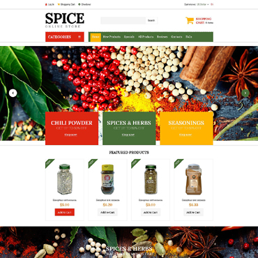 Website Template № 51820