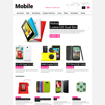 Template Electronice Magento #51831