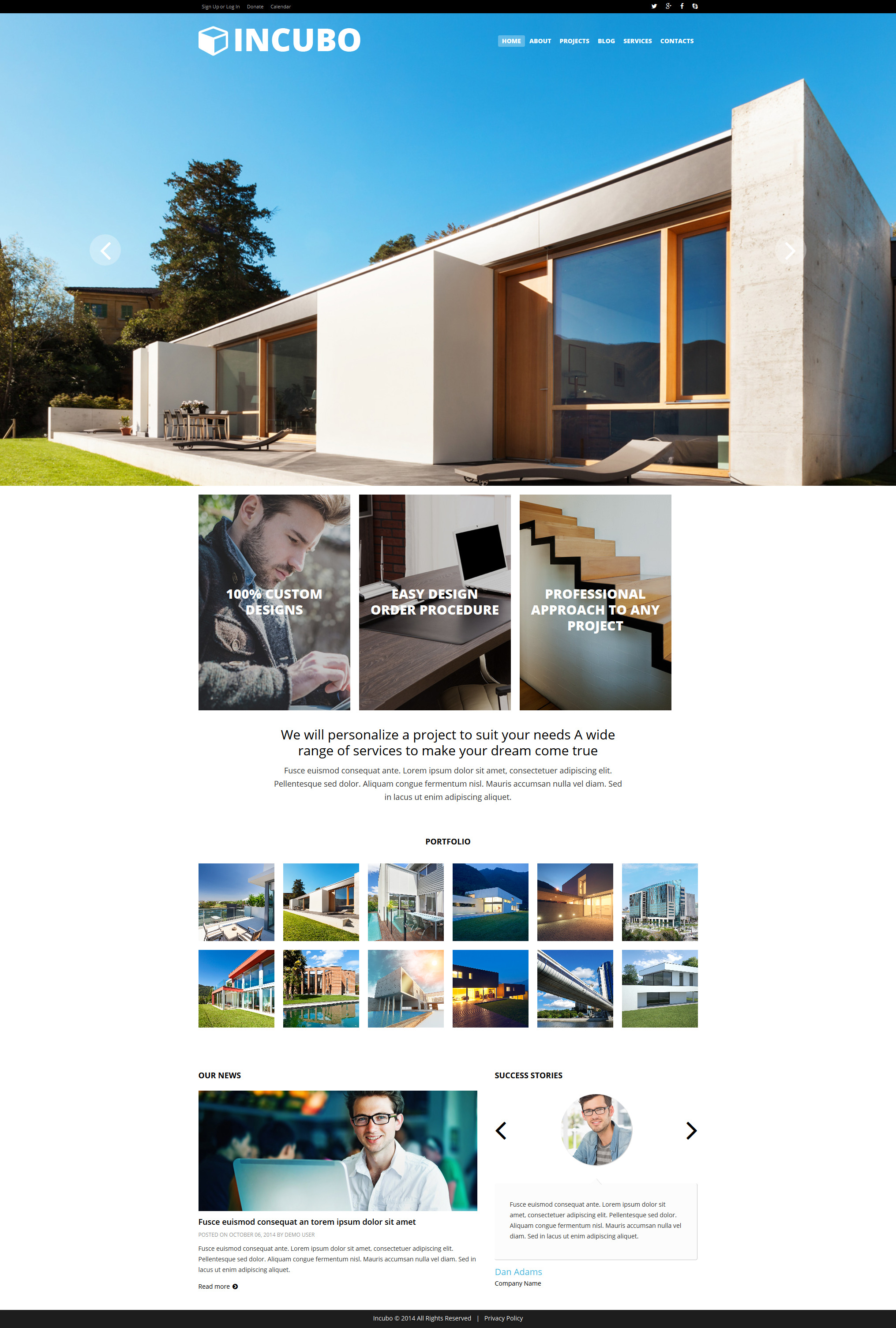 Modern Design Board Joomla Template