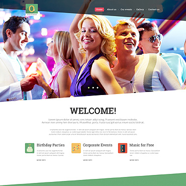 Template Divertisment Joomla #51847