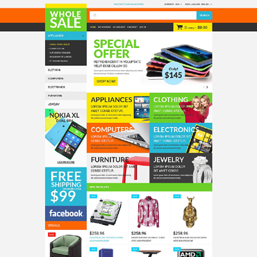 Template Electronice Magento #51848