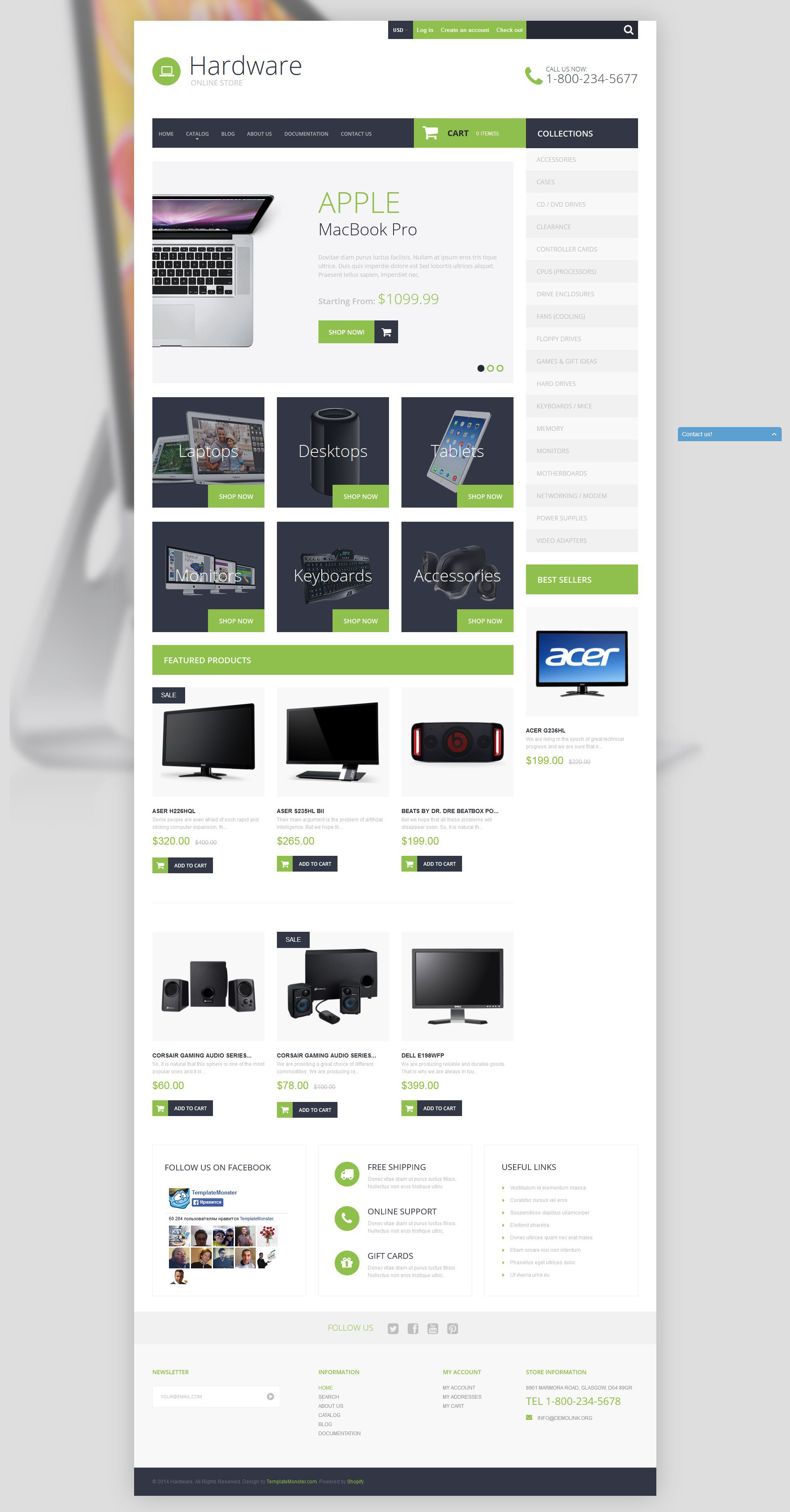 Smart Hardware Shopify Theme