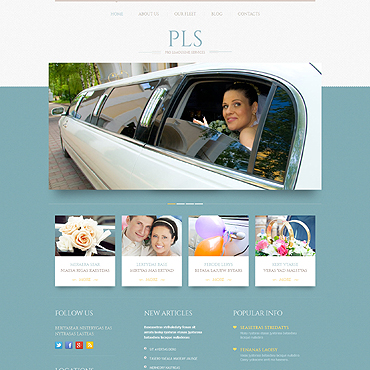 Website Template № 51909