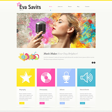 Website Template № 51916