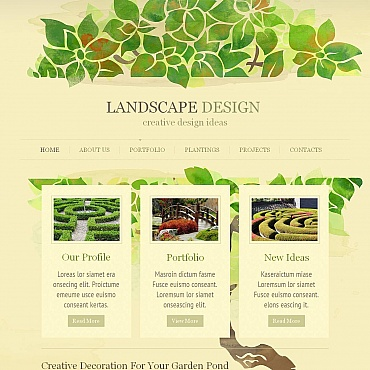 Website Template № 51939