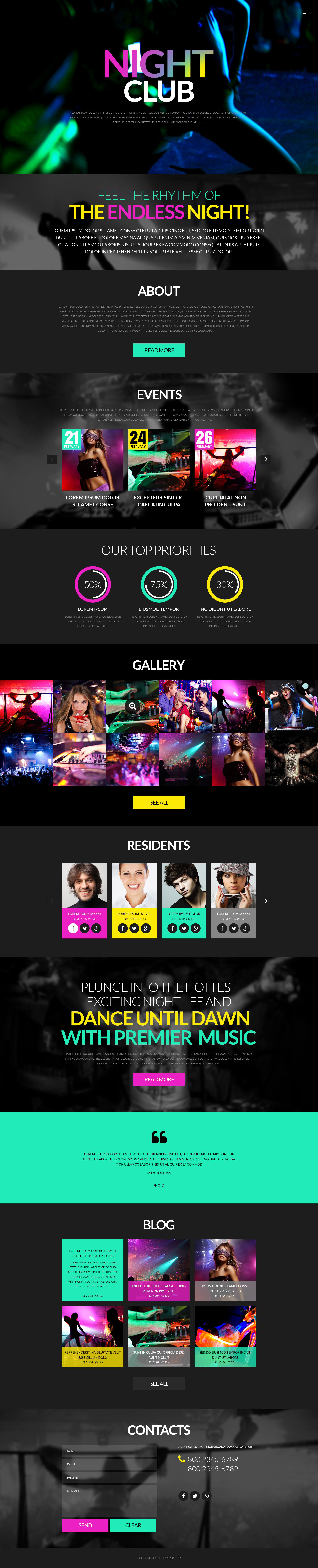 Party WordPress Theme