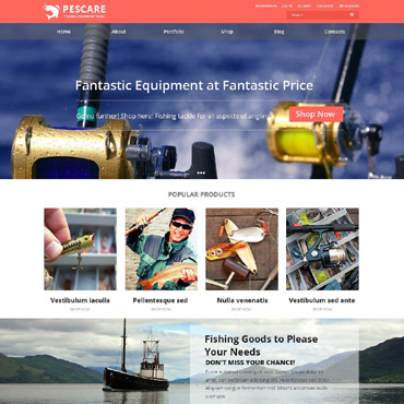 Website Template № 52019