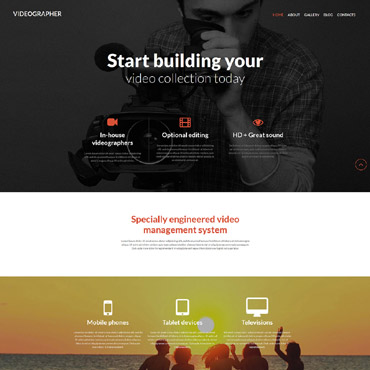 Website Template № 52024