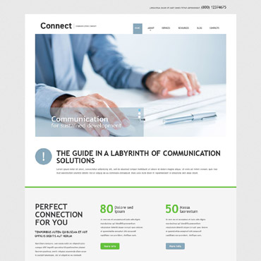 Website Template № 52029