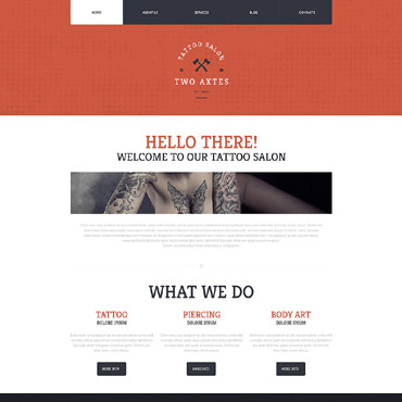 Website Template № 52040