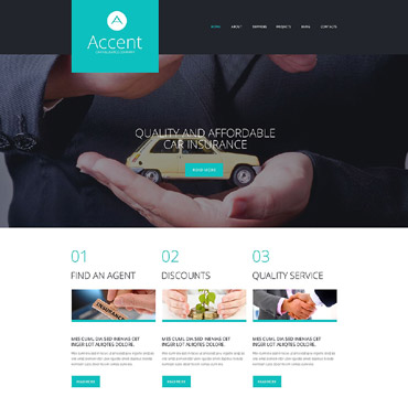 Website Template № 52050