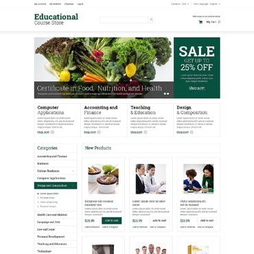 Template Educație Magento #52055