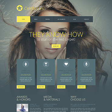 Website Template № 52063