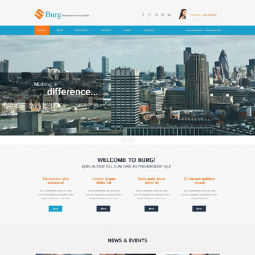 Website Template № 52084