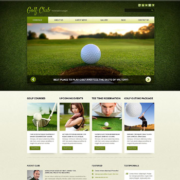 Website Template № 52103