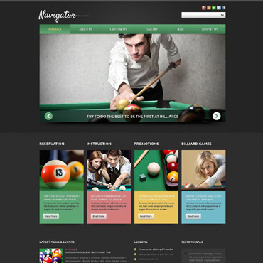Website Template № 52105
