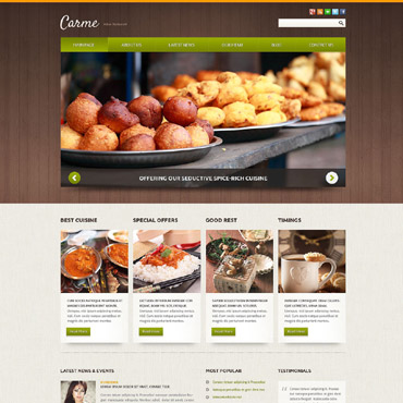 Website Template № 52106
