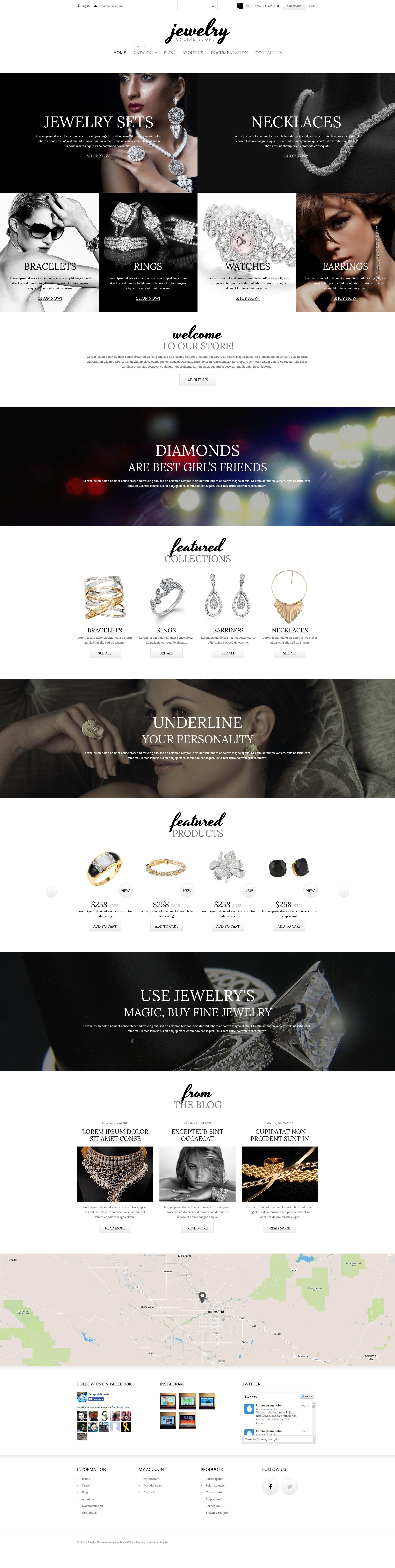 Charming Jewelry Shopify Theme