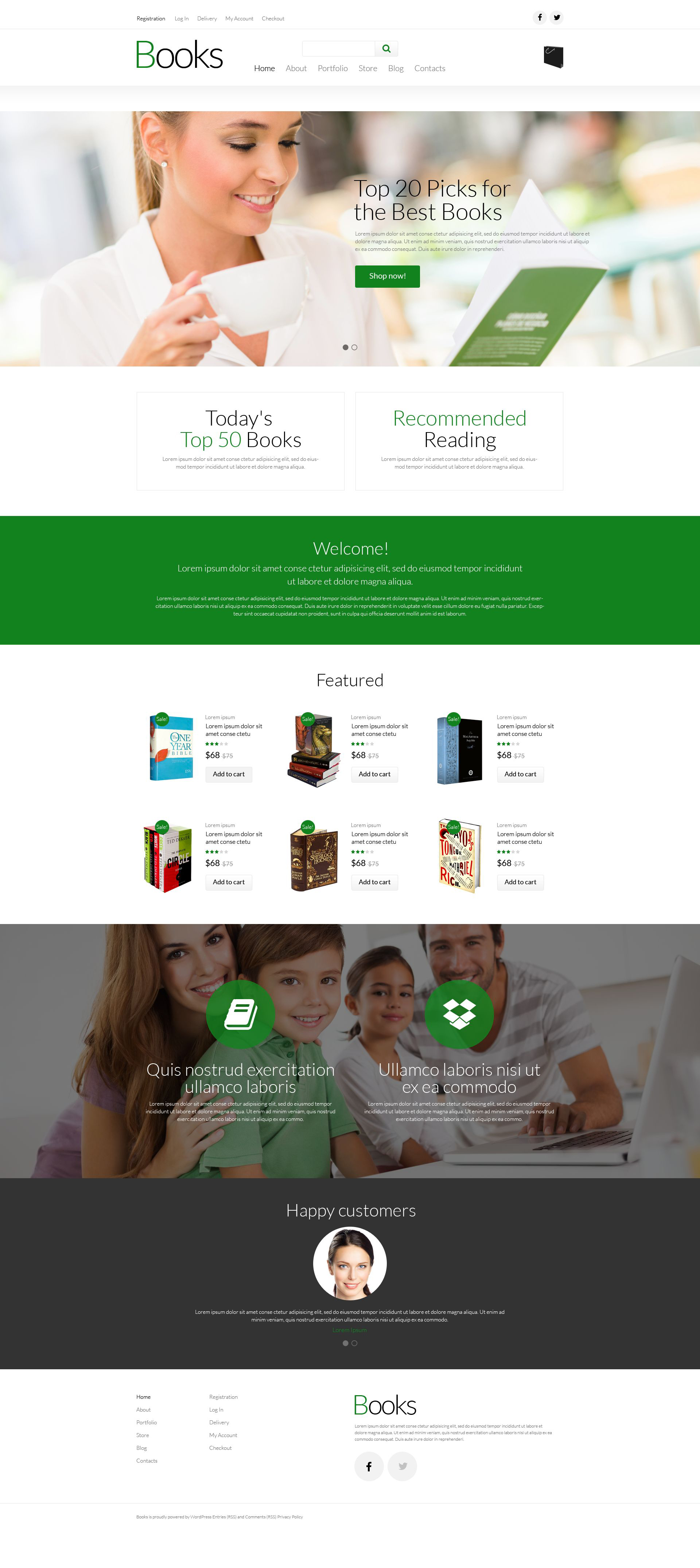 Paperback Book Store WooCommerce Theme