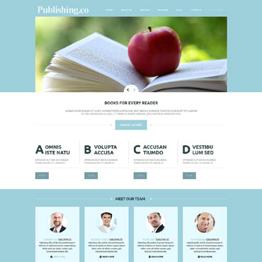 Website Template № 52320