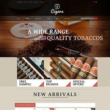 Website Template № 52363