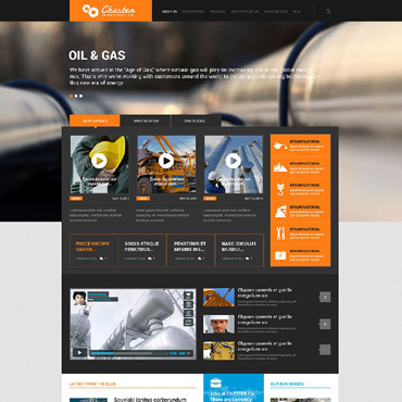 Website Template № 52370